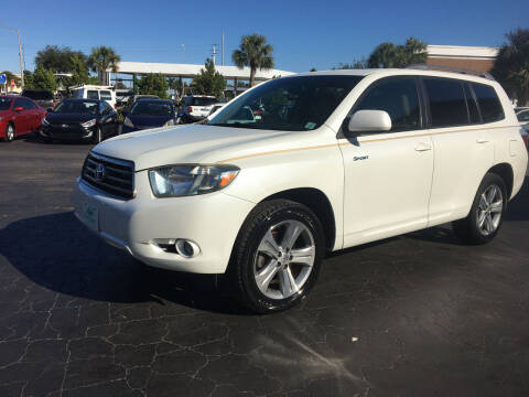 2008 Toyota Highlander for sale at CAR-RIGHT AUTO SALES INC in Naples FL