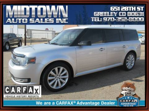 2014 Ford Flex for sale at MIDTOWN AUTO SALES INC in Greeley CO