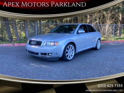 2004 Audi A4 for sale at Apex Motors Parkland in Tacoma WA