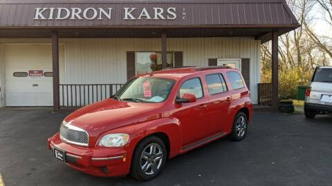 2011 Chevrolet HHR for sale at Kidron Kars INC in Orrville OH