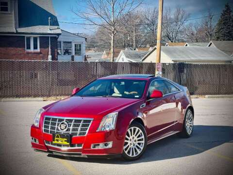 2013 Cadillac CTS for sale at ARCH AUTO SALES in St. Louis MO