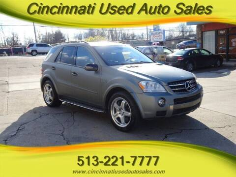 2007 Mercedes-Benz M-Class for sale at Cincinnati Used Auto Sales in Cincinnati OH