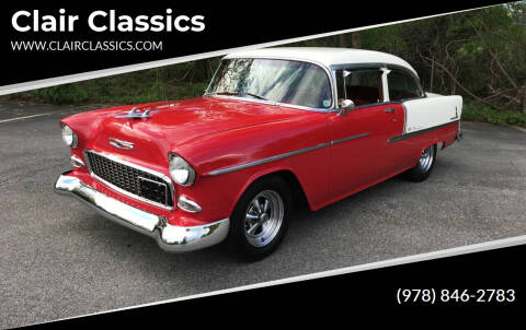 1955 Chevrolet Bel Air for sale at Clair Classics in Westford MA