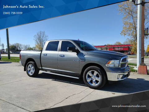 2013 RAM Ram Pickup 1500 for sale at Johnson's Auto Sales Inc. in Decatur IN