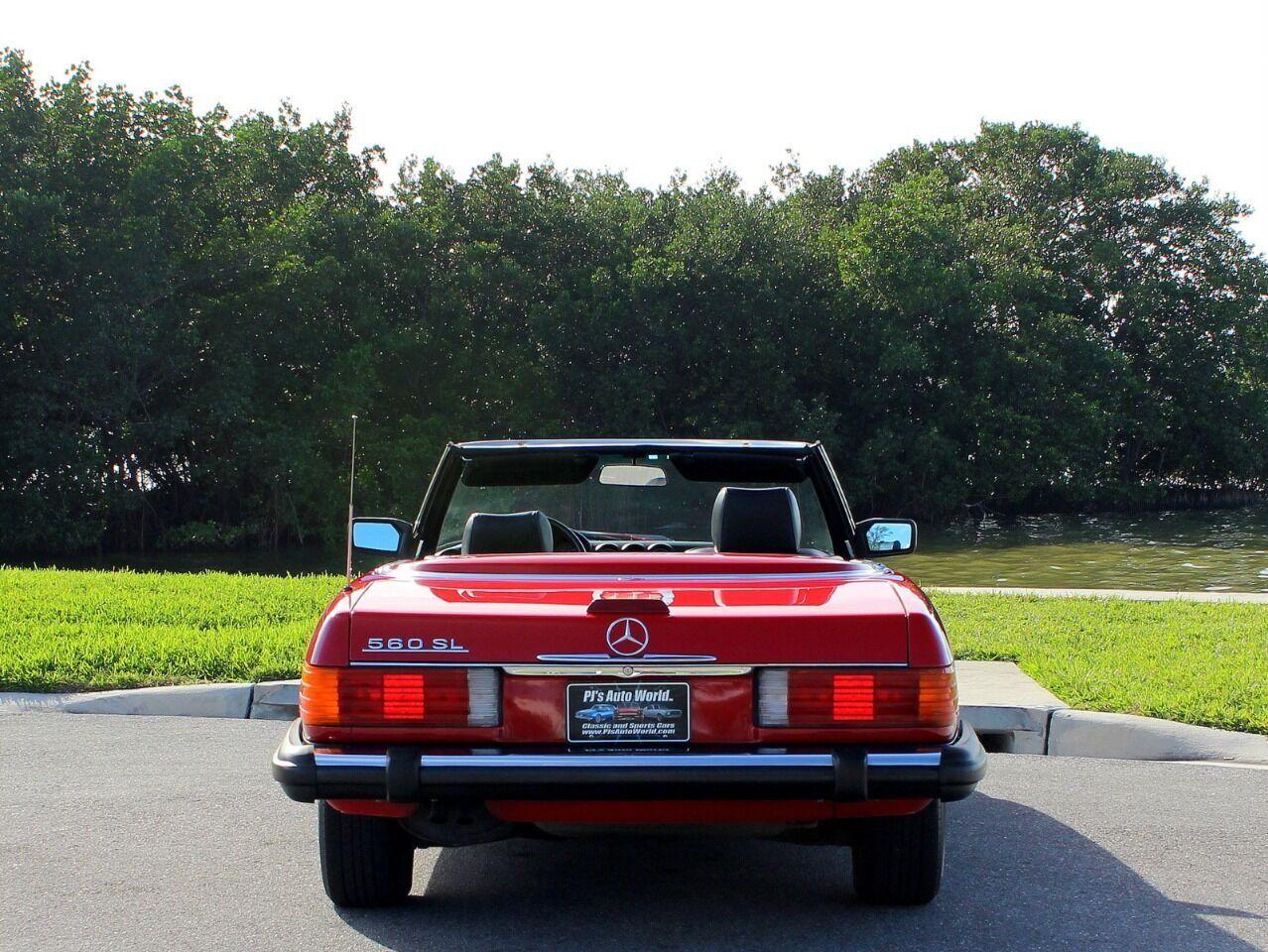 1987 Mercedes-Benz 560-Class 9