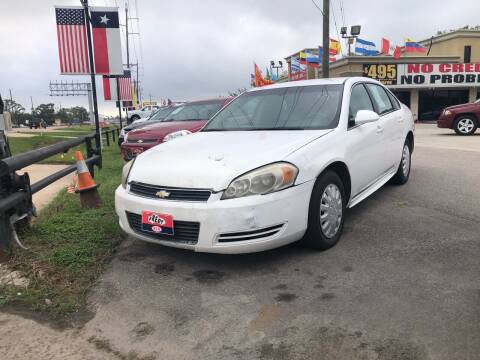 2010 Chevrolet Impala for sale at FREDY CARS FOR LESS in Houston TX