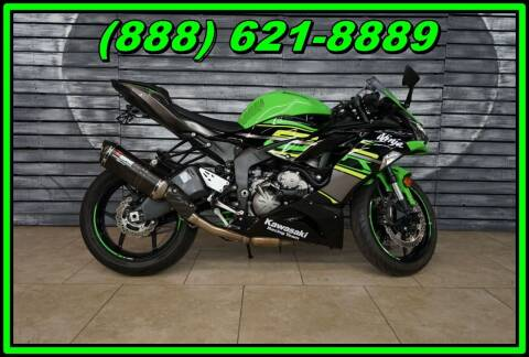2019 Kawasaki Ninja ZX-6R for sale at AZMotomania.com in Mesa AZ