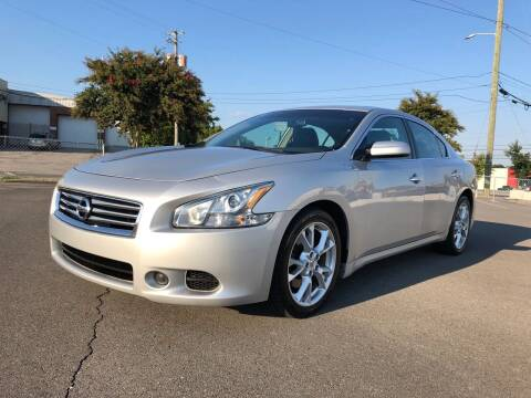 2012 Nissan Maxima for sale at Diana Rico LLC in Dalton GA