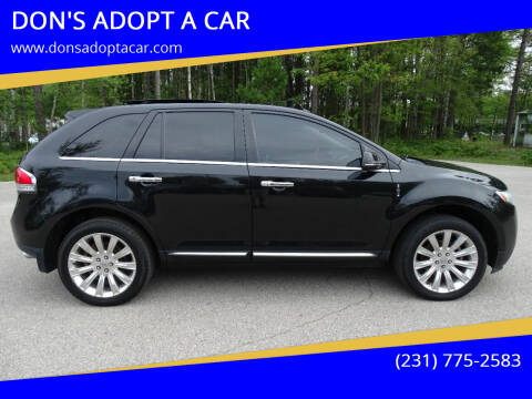 2014 Lincoln MKX for sale at DON'S ADOPT A CAR in Cadillac MI