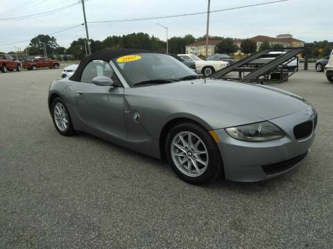 2007 BMW Z4 for sale at Kelly & Kelly Supermarket of Cars in Fayetteville NC
