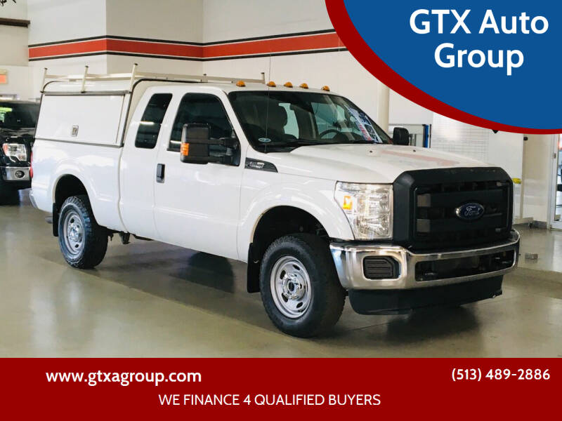 2015 Ford F-250 Super Duty for sale at GTX Auto Group in West Chester OH