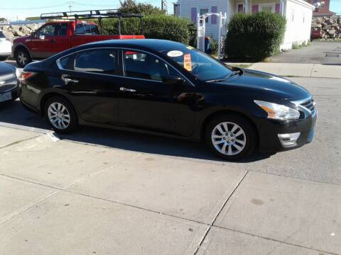 2014 Nissan Altima for sale at Nelsons Auto Specialists in New Bedford MA