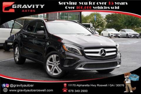2015 Mercedes-Benz GLA for sale at Gravity Autos Roswell in Roswell GA