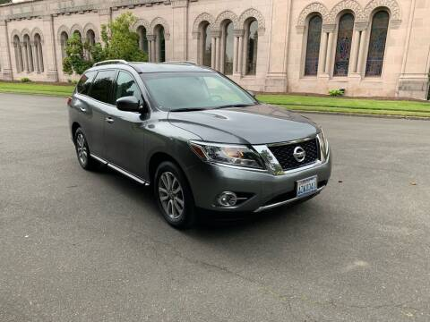 2015 Nissan Pathfinder for sale at First Union Auto in Seattle WA