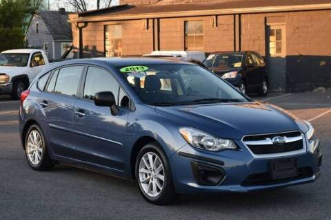 2013 Subaru Impreza for sale at Broadway Motor Car Inc. in Rensselaer NY