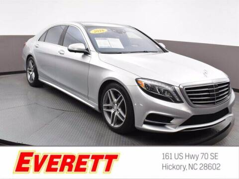 2016 Mercedes-Benz S-Class for sale at Everett Chevrolet Buick GMC in Hickory NC