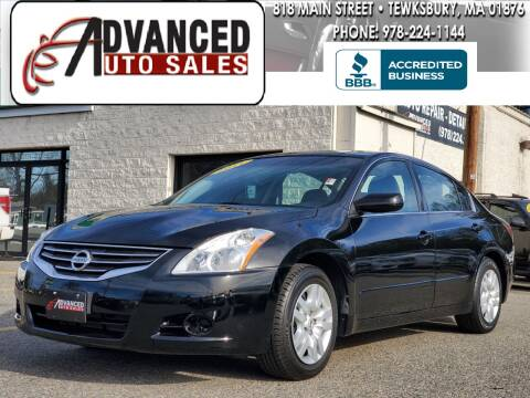2011 Nissan Altima for sale at Advanced Auto Sales in Tewksbury MA