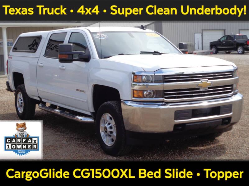 2018 Chevrolet Silverado 2500HD for sale at Burkholder Truck Sales LLC (Versailles) in Versailles MO