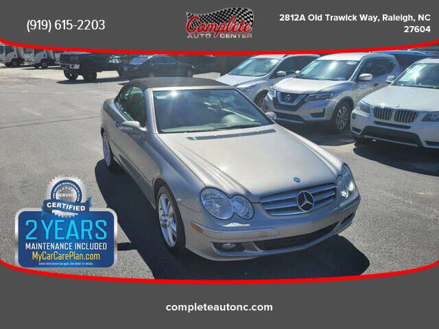2008 Mercedes-Benz CLK for sale at Complete Auto Center , Inc in Raleigh NC