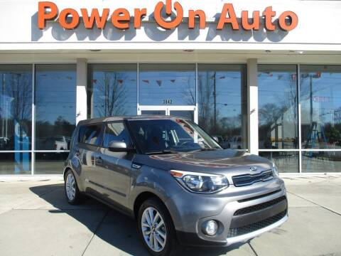 2017 Kia Soul for sale at Power On Auto LLC in Monroe NC