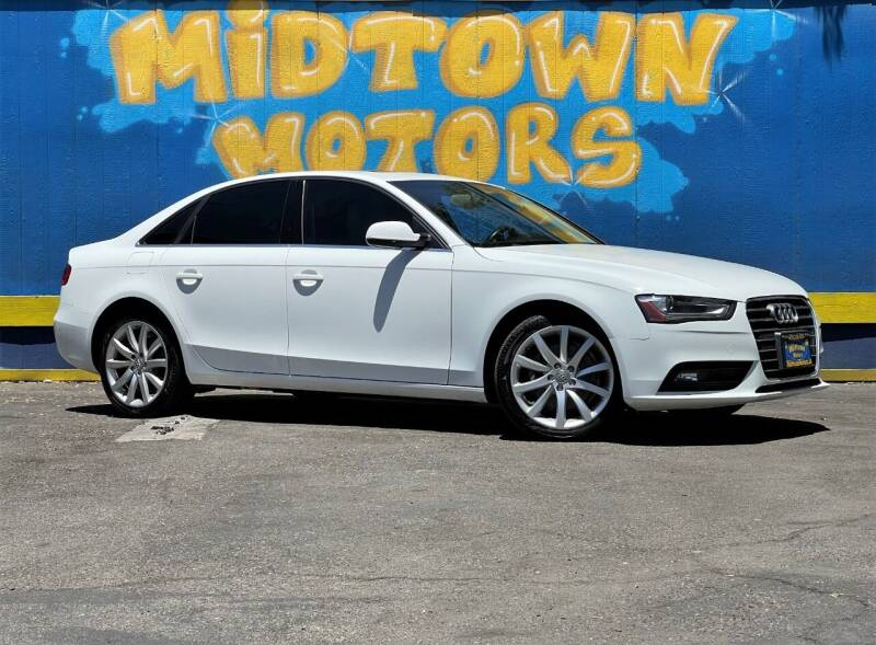 2013 Audi A4 for sale at Midtown Motors in San Jose CA