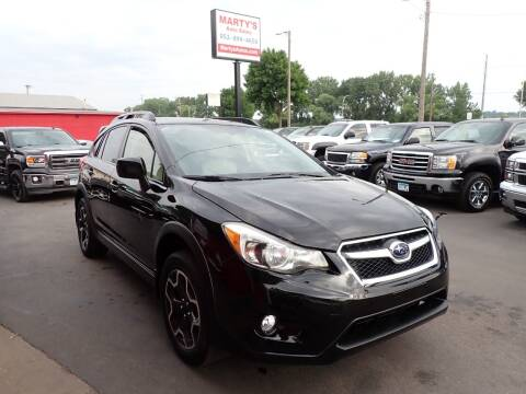 2014 Subaru XV Crosstrek for sale at Marty's Auto Sales in Savage MN
