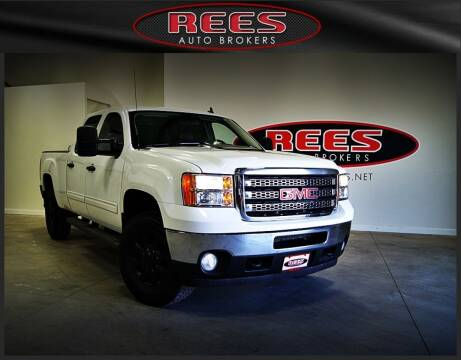 2013 GMC Sierra 2500HD for sale at REES AUTO BROKERS in Washington UT
