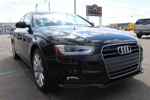 2013 Audi A4 for sale at B & B Car Co Inc. in Clinton Twp MI