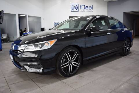 2017 Honda Accord for sale at iDeal Auto Imports in Eden Prairie MN