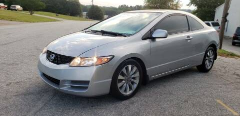 2010 Honda Civic for sale at ALL AUTOS in Greer SC
