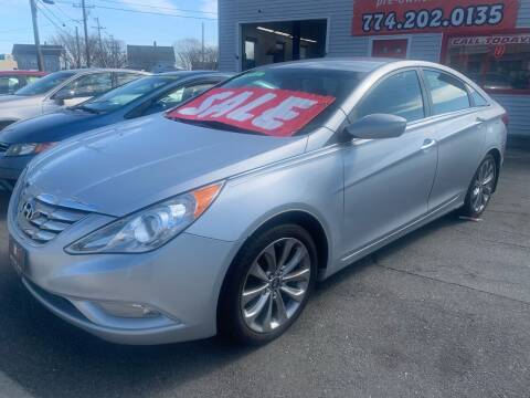 2012 Hyundai Sonata for sale at Better Auto in South Darthmouth MA