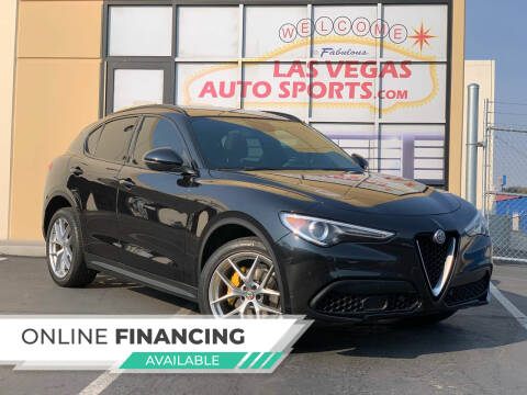 2018 Alfa Romeo Stelvio for sale at Las Vegas Auto Sports in Las Vegas NV