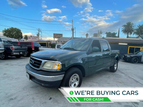 2001 Ford F-150 for sale at FJ Auto Sales North Hollywood in North Hollywood CA