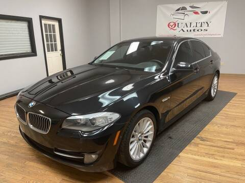 2013 BMW 5 Series for sale at Quality Autos in Marietta GA