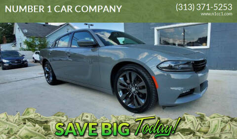 2018 Dodge Charger for sale at NUMBER 1 CAR COMPANY in Detroit MI