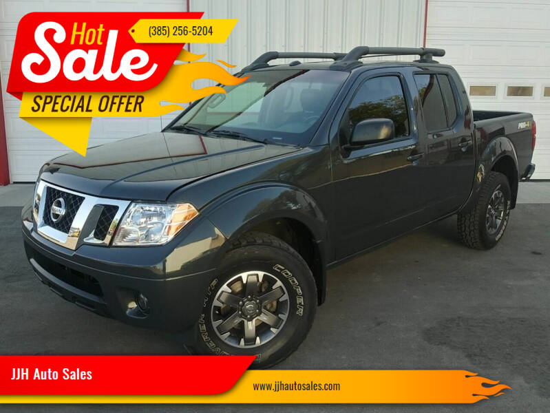 2015 Nissan Frontier for sale at JJH Auto Sales in Salt Lake City UT