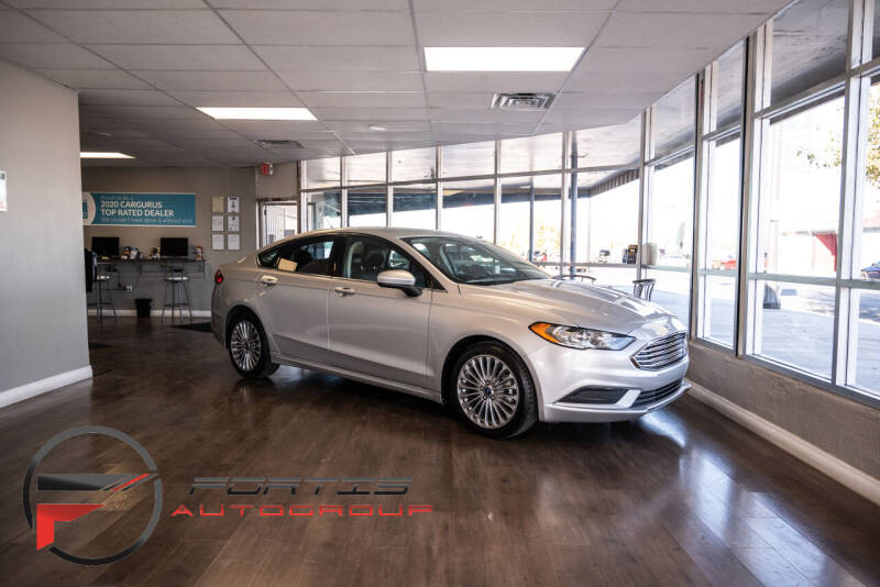 2017 Ford Fusion Hybrid for sale at Fortis Auto Group in Las Vegas NV