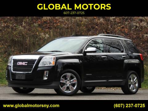 2014 GMC Terrain for sale at GLOBAL MOTORS in Binghamton NY