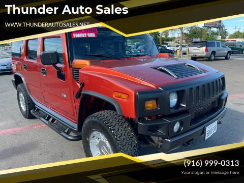 2003 HUMMER H2 for sale at Thunder Auto Sales in Sacramento CA