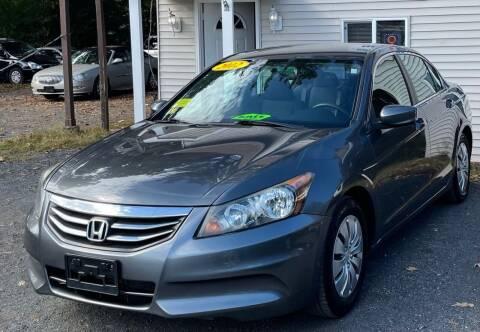 2012 Honda Accord for sale at Landmark Auto Sales Inc in Attleboro MA
