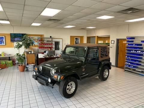 1998 Jeep Wrangler for sale at FIESTA MOTORS in Hagerstown MD
