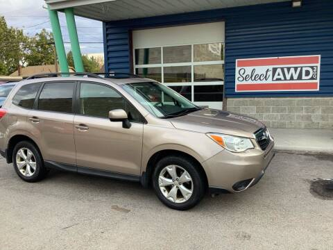 2014 Subaru Forester for sale at Select AWD in Provo UT