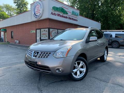 2009 Nissan Rogue for sale at GMA Automotive Wholesale in Toledo OH