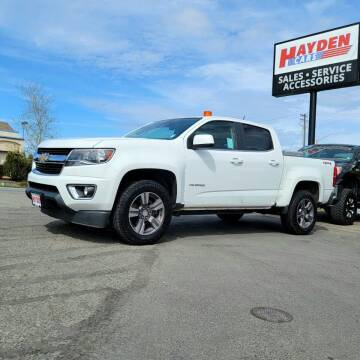 2015 Chevrolet Colorado for sale at Hayden Cars in Coeur D Alene ID