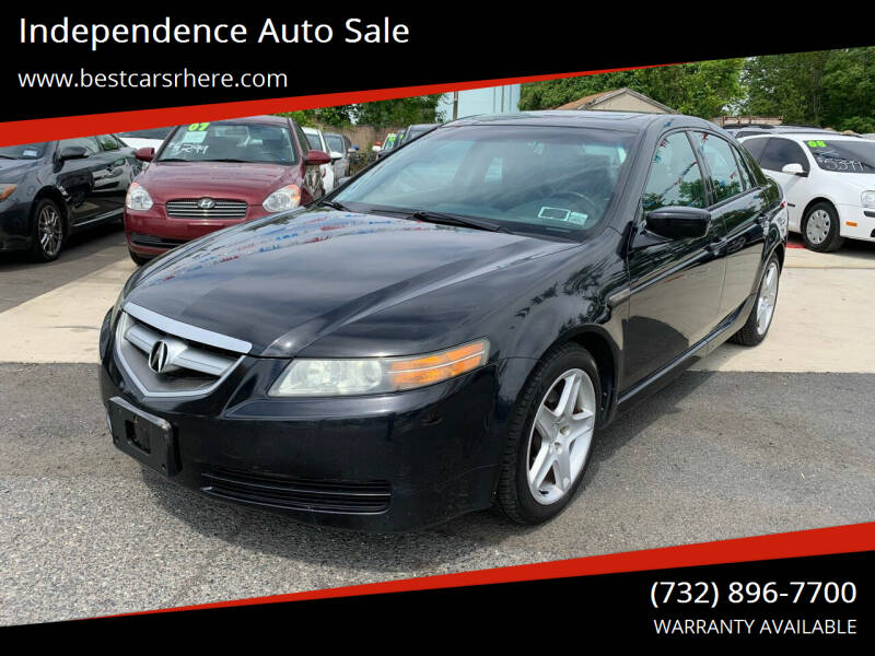 2005 Acura TL for sale at Independence Auto Sale in Bordentown NJ