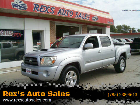 2010 Toyota Tacoma for sale at Rex's Auto Sales in Junction City KS