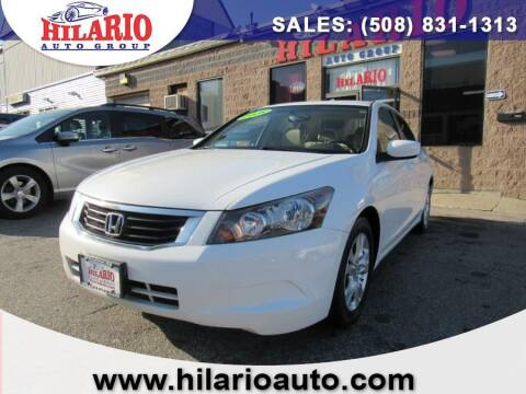 2008 Honda Accord for sale at Hilario's Auto Sales in Worcester MA
