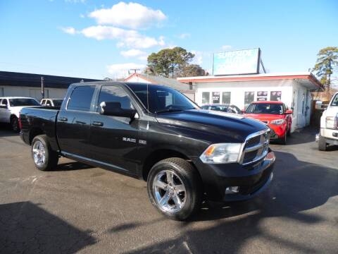 2009 Dodge Ram Pickup 1500 for sale at Surfside Auto Company in Norfolk VA