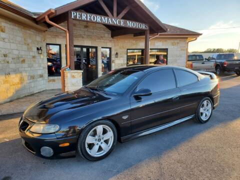 2006 Pontiac GTO for sale at Performance Motors Killeen Second Chance in Killeen TX