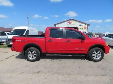 2012 Nissan Titan for sale at Jefferson St Motors in Waterloo IA